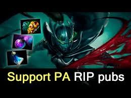 support phantom assassin by virtus pro bts series finals youtube