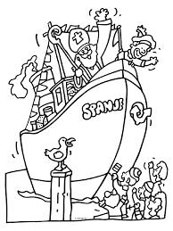 Pakjesboot Sinterklaas Intocht Knutselpaginanl Knutselen