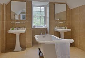 Champagne Bathroom Suite Suite Seven Glencoe House Hotel