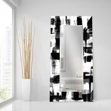 contemporary mirror mirror mirror wall