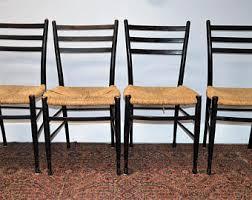 korean modern furniture dpvl. Vintage Set Of 4 Mid Century Modern Spanish Ladder Back Rush Dining Chairs Korean Furniture Dpvl