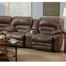 legacy power reclining loveseat w console