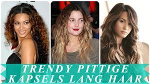 Trendy Pittige Kapsels Lang Haar