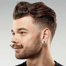 hipster hairstyle with stylish beard