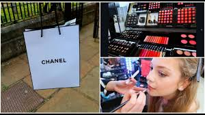 getting my makeup done by chanel haul