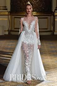 embroidered wedding dress. Berta Hand Embroidered Wedding Dress Spring 2018 Brides