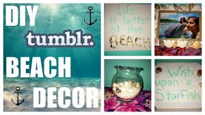 diy tumblr beach inspired room decor youtube