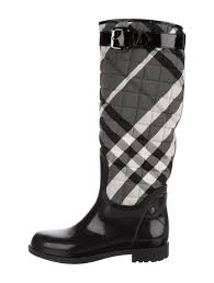 Burberry Quilted Beat Check Rain Boots - Shoes - BUR81974 | The ... & Quilted Beat Check Rain Boots Adamdwight.com
