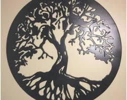 Decorazioni In Legno Da Parete : Articoli simili a albero della vita da parete decorazione interni