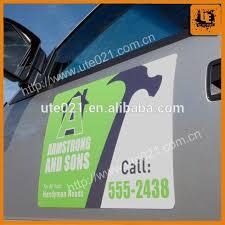 Custom Car Magnets Magnetic Signs Car Door Magnet Sticker Buy