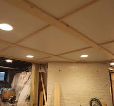 Delightful Basement Ceiling Ideas Beadboard Options  Ceiling With - Finished basement ceiling ideas