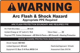 Arc Flash Creative Safety Supply