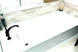 acrylic kohler bellwether tub reviews cast iron tubs awesome pics villager weight