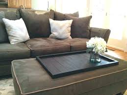 large padded coffee table large ottoman coffee table ottoman table tray e furniture large square e