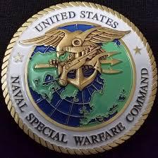 Usnavspecwarcom Us Navy Special Warfare Command Navy Chief Challenge Coin Phoenix Challenge Coins