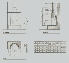 outdoor fireplace plan diagram of fireplace dimensions outdoor brick fireplace plans free outdoor fireplace