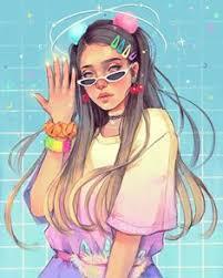 50+ Cute drawings of girls ideas in 2020 | cute drawings, digital art girl,  girls cartoon art