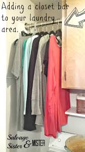 Laundry Hanging Bar Best 25 Hanging Clothes Ideas On Pinterest Drawer Pulls