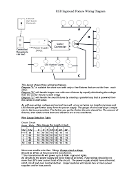 wiring diagram for 24vdc rgb color changing led landscape lighting