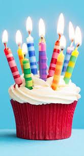 Happy Birthday Cupcake Candles Happy Birthday Wishes Happy