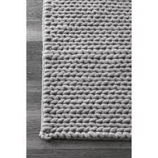 home interior fortune cable rug nuloom handmade braided new zealand wool 6 x 9 from
