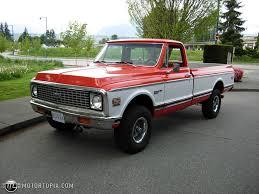 1972 Chevrolet C/K 10 Series 1/2 ton Custom Deluxe For Sale id 16520