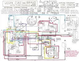 ciao wiring diagram detroit burbs vespa ciao bravo signals wiring diagram