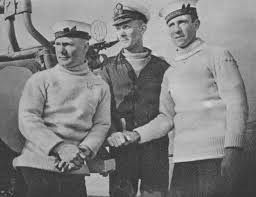 royal navy submariners in rollneck sweaters