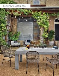 four hands furniture austin. Exellent Furniture Local Event Space Palazzo Lavaca Laid The Perfect Framework For Our New  Outdoor Items Its Courtyardu0027s Lush Greenery And Gravel Terrain U2013 A Dreamy Oasis  Intended Four Hands Furniture Austin R