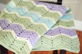 Chevron Crochet Blanket Pattern Adorable Easy Chevron Blanket Crochet Pattern Daisy Cottage Designs