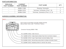 2006 toyota tundra trailer wiring harness diagram wirdig