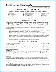 Resume For Cooks Adorable Sous Chef Job Description Resume Line Cook Resume Examples Unique