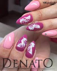 Dusty Pink Almond Nails Beautiful 80 Cute Almond Shaped Nail Designs