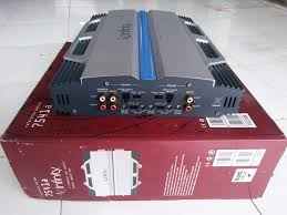 infinity amplifier. power amplifier 4-channel infinity reference 7541a