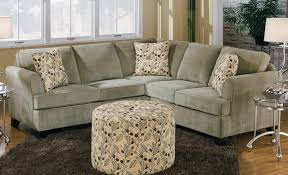 Small Brown Microfiber, Chaise | Montana Mocha 2-Piece Sectional Sofa