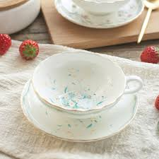 european cup office coffee. Creative Office Bone Porcelain European Coffee Cup Saucer Set Luxury White Chinese Tea Decoration Supplies 50N5035-in \u0026 Sets E