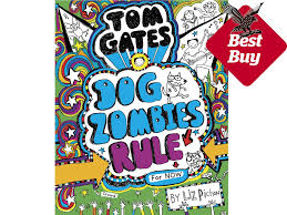 author liz pichon is herself dyslexic and her hugely por tom gates series features just the kind of books she says she wishes she d been given as a