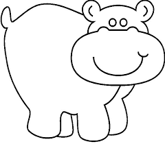 Small Picture Hippo Coloring Page Free Hippo Online Coloring hippo coloring