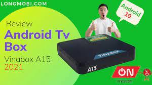 Vinabox A15 2021 H313 Ram 2GB Android 10, Có Bản Quyền VTVcabON Xem Truyền  Hình Ổn Định - longmobi - YouTube
