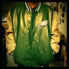 philadelphia eagles coats leather jacket