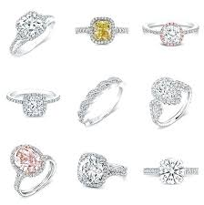 Diamond Ring Chart Engagement Ring Styles Engagement Engagement Ring Setting