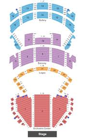 Orpheum Theater Seating Chart New Orleans