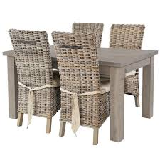 modish furniture. Farringdon Reclaimed Wood Extending Dining Table And Rattan Chairs Modish Furniture