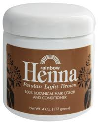 Rainbow Research Henna Persian Light Brown 4 Oz Pack Of 2