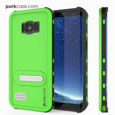 Samsung Galaxy S8 Green Light Galaxy S8 Plus Waterproof Case Punkcase Kickstud Series