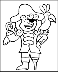 Kids color and cut out a spiral snake, exercising their fine motor skills on this prekindergarten arts and crafts and coloring worksheet. Girl Pirate Coloring Page Coloring Home