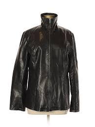 pin it faded glory women faux leather jacket size m