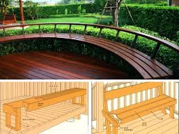 decks and patios ideas types of built in deck patio seating ideas photos small backyard deck and patio ideas