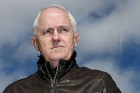 malcolm turnbull wearing a leather jacket
