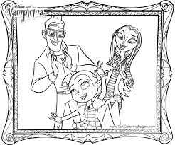 Vampirina Coloring Pages Beautiful Family Portrait Coloring Pages